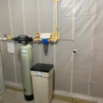 Solution Feeder, Water Softener for hard water and a sediment filter