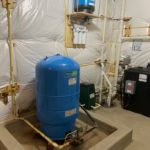 Pressure Tank, Radon removal with water pressure booster and a reverse osmosis
