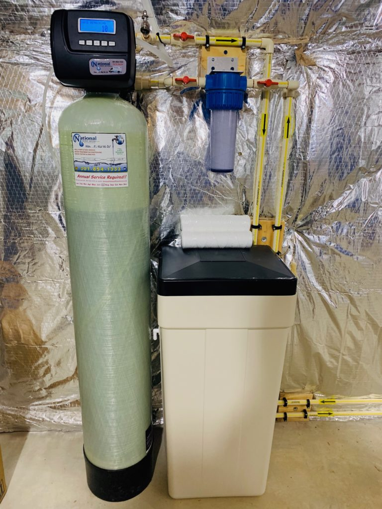 water softener and sediment filter