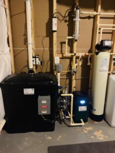 Radon in Water Remediation with pressure booster