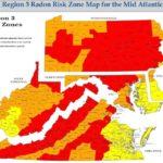 mid atlantic radon map