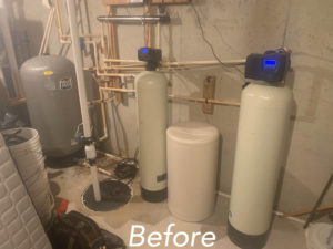 water treatment replacement installation