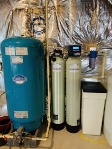 Pressure Tank, Carbon Tank, Water Softener and Sediment Filter