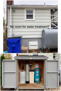 Water Treatment Shed