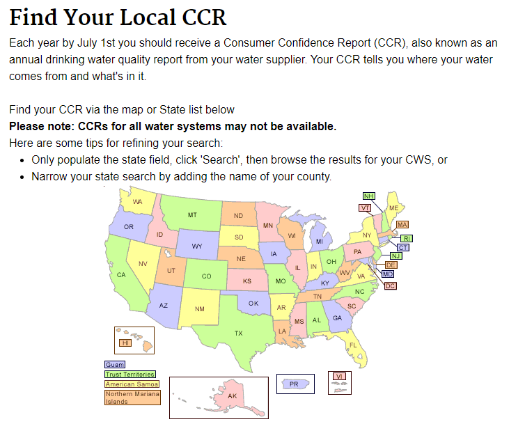 find your local ccr