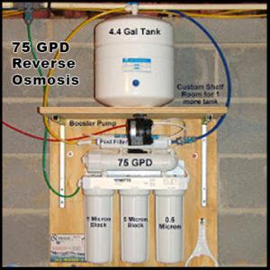 75 gdp reverse osmosis
