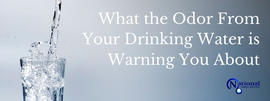 cover photo for What the Odor From Your Drinking Water is Warning You About